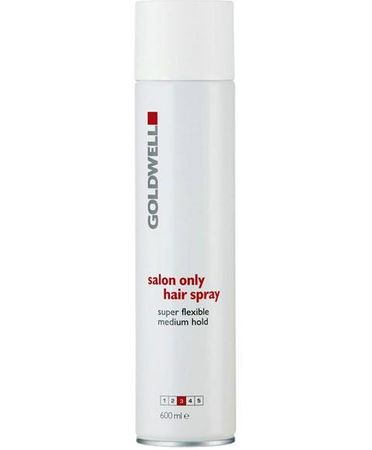Goldwell Salon Only Medium Hold HairSpray (white) 600 ml