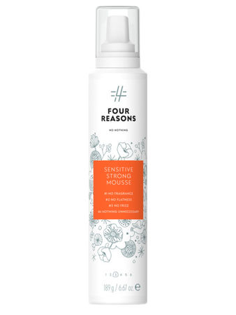 Four Reasons No Nothing Strong Mousse 200ml