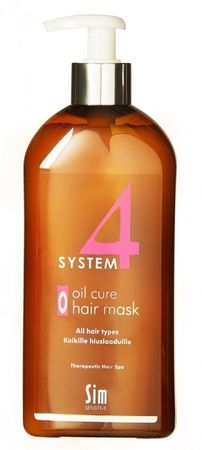 Sim System4 (0) Oil Cure Hair Mask 500ml
