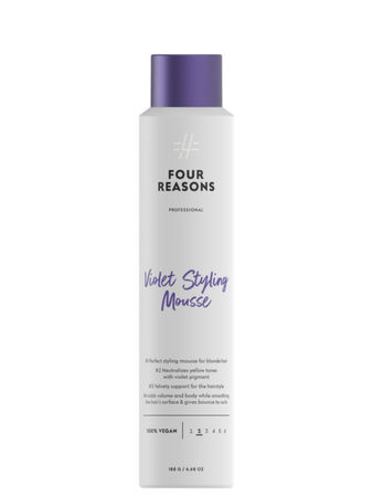 Four Reasons Professional Violet Styling Mousse 200ml
