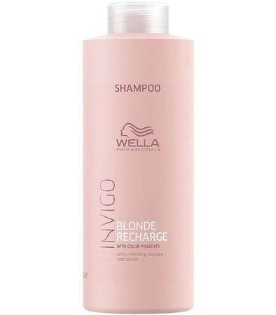 Wella Invigo Blonde Recharge Shampoo 1000ml