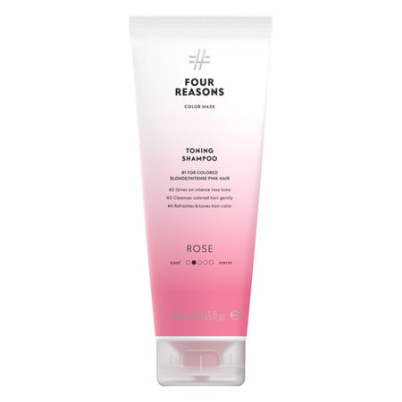 Four Reasons Color Mask TONING SHAMPOO ROSE 250ml