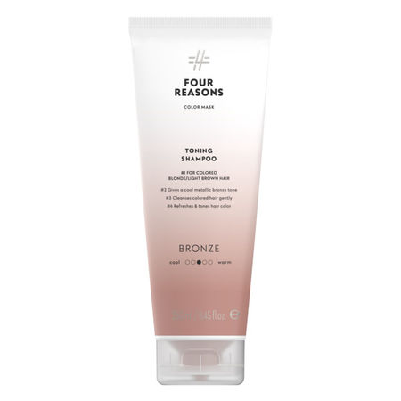 Four Reasons Color Mask TONING SHAMPOO BRONZE 250ml