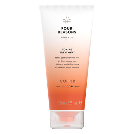Four Reasons Color Mask TONING TREATMENT COPPER 200ml
