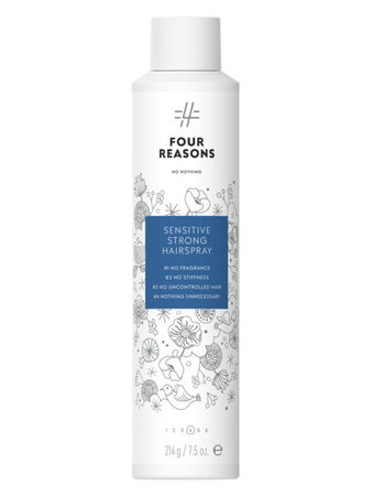 Four Reasons No Nothing Sensitive  Strong HairSpray 300ml